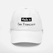 Made in San Francisco Baseball Baseball Cap