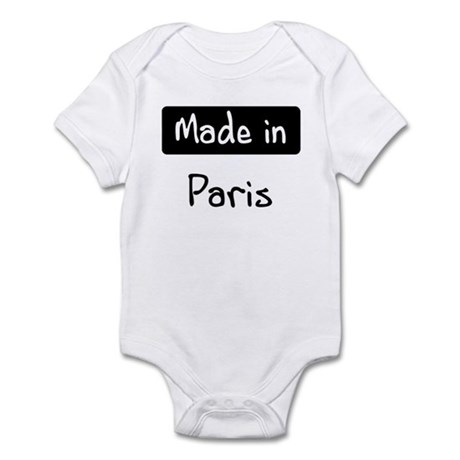 Made in Paris Infant Bodysuit