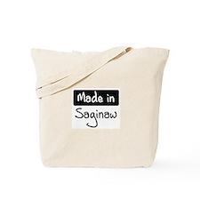 Made in Saginaw Tote Bag