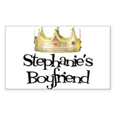 Stephanie's Boyfriend Rectangle Decal