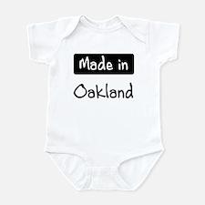 Made in Oakland Infant Bodysuit
