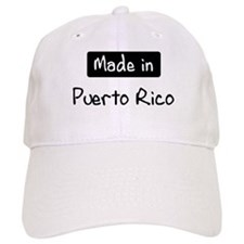 Made in Puerto Rico Baseball Cap