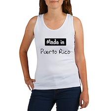 Made in Puerto Rico Women's Tank Top
