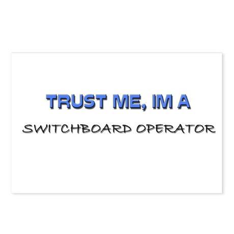 Trust Me I'm a Switchboard Operator Postcards (Pac