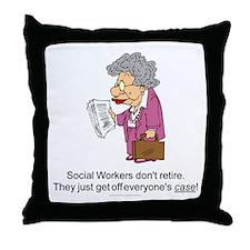 SW Don't Retire Throw Pillow