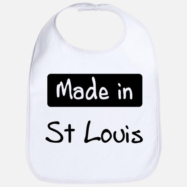 Made in St Louis Bib