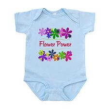 Flower Power Infant Bodysuit