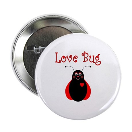 "Cute Love Bug Ladybug 2.25"" Button"