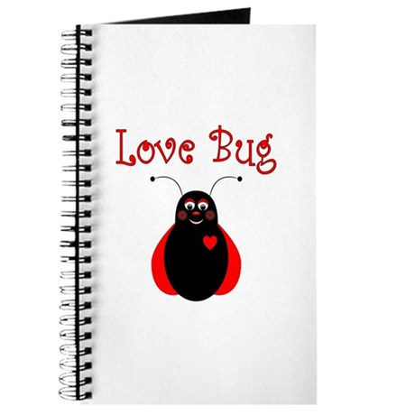 Cute Love Bug Ladybug Journal