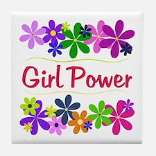 Girl Power Tile Coaster
