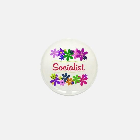 Socialist Mini Button