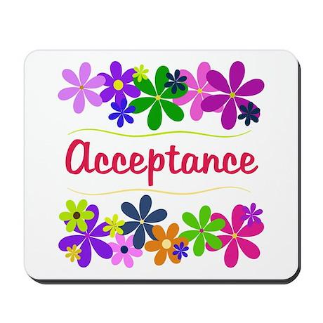 Acceptance Mousepad