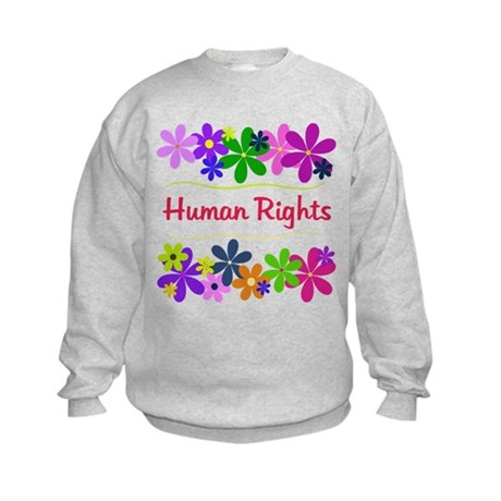 Human Rights Kids Sweatshirt