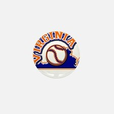 Viriginia Baseball Mini Button