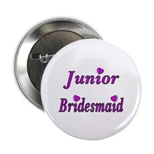 "Junior Bridesmaid Simply Love 2.25"" Button (10 pac"