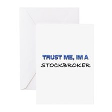 Trust Me I'm a Stockbroker Greeting Cards (Pk of 1