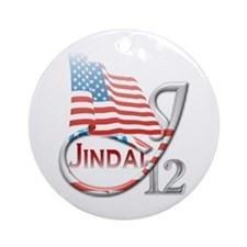 Jindal '12 - Ornament (Round)
