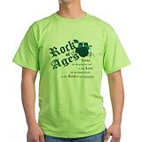 Christian drummer Green T-Shirt