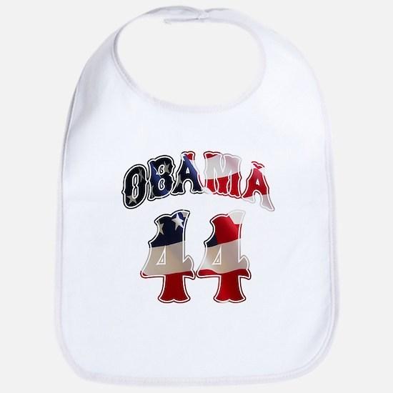 Barack Obama 44th President Bib