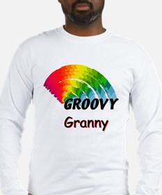 Groovy Granny Long Sleeve T-Shirt