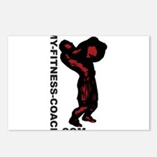 My-Fitness-Coach.com Postcards (Package of 8)