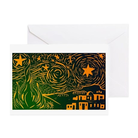 Starry Night Over Bethlehem Christmas Cards (20)