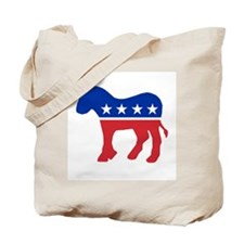 Democratic Party Donkey Tote Bag