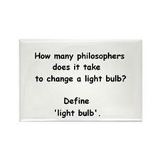 How many philosophers...change a light bulb? Recta