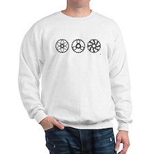 Vintage Chainrings by rhp3 Sweatshirt