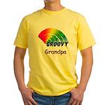 Groovy Grandpa Yellow T-Shirt