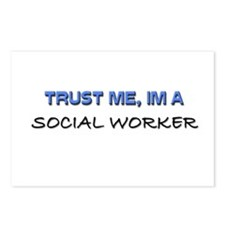 Trust Me I'm a Social Worker Postcards (Package of