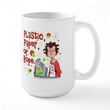 Plastic, Paper or Rope Mug