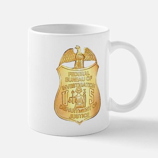FBI Badge Mug