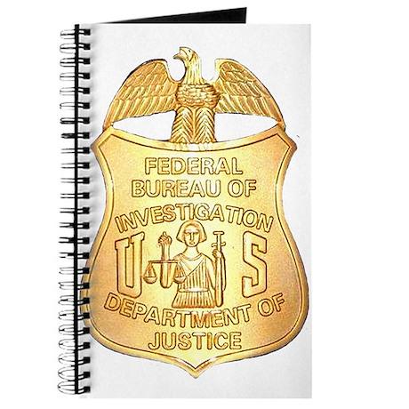FBI Badge Journal