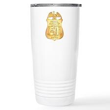 FBI Badge Travel Coffee Mug