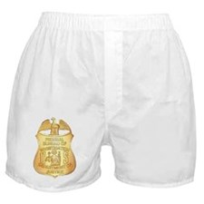 FBI Badge Boxer Shorts