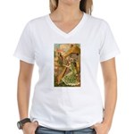 Erin Go Bragh Women's V-Neck T-Shirt
