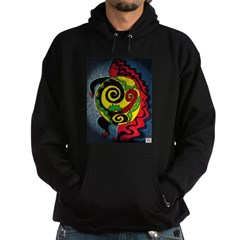 Universe in the belly of a wo Hoodie