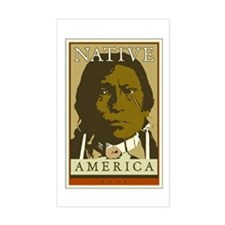 Native America Rectangle Decal