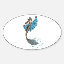 Siren of the Sea Oval Decal