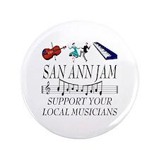 """SAN ANN JAM 3.5"""" Button (100 pack)"""
