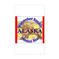 Alaska-3 Rectangle Decal
