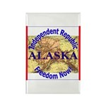 Alaska-3 Rectangle Magnet (100 pack)