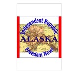 Alaska-3 Postcards (Package of 8)