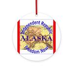 Alaska-3 Ornament (Round)
