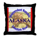 Alaska-3 Throw Pillow