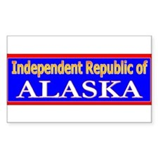 Alaska-2 Rectangle Decal