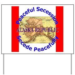 Alaska-1 Yard Sign
