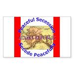 Alaska-1 Rectangle Sticker 50 pk)