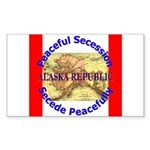 Alaska-1 Rectangle Sticker